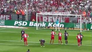 Podolskis 1. Tor gegen Köln - 1. FC Köln vs. Arsenal London [HD]