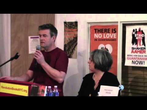 Close Guantanamo NOW  Andy Worthington Speaks on the Battle to Free Shaker Aamer SD