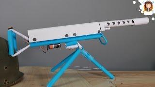 Browning M2 de Papel Automática - (Metralhadora de Papel)