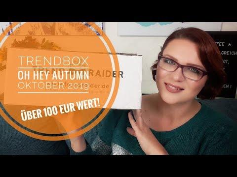 Trendraider TRENDBOX Oh Hey Autumn | Unboxing Oktober 2019 | Gesamtwert über 100 EUR!