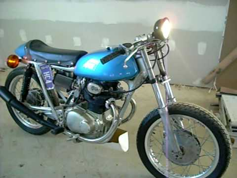 1971 Honda CB350 Cafe Racer