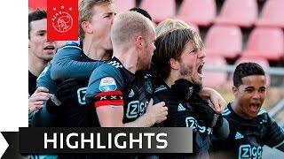 Highlights FC Utrecht - Ajax