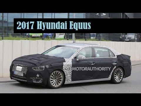 2017 Hyundai Equus, spyshots of a prototype for the next generation model