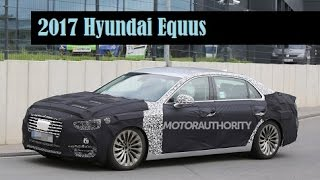 2017 Hyundai Equus, spyshots of a prototype for the next generation model