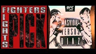 Fighters Pick Fights | Jorge Masvidal vs. Nate Diaz | UFC 244
