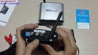 Bộ thu phát tín hiệu AV không dây 150m tần số 2,4 GHz Model: PAT-330