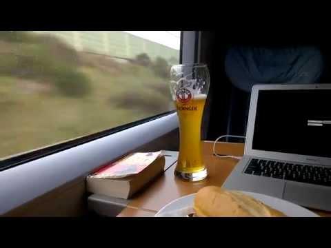 Video of the German ICE train from Frankfurt to Dusseldorf #SDNWorldCongress #Layer123