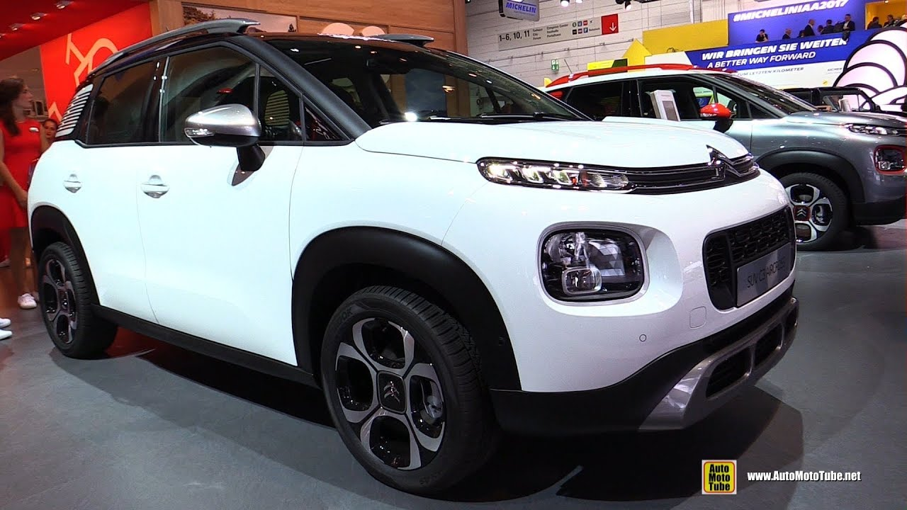 2018 citroen c3 aircross puretech exterior and interior walkaround 2017 frankfurt auto show. Black Bedroom Furniture Sets. Home Design Ideas