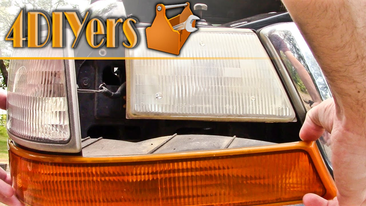 DIY: 98-00 Ford Ranger Parking Light & Headlight Removal on