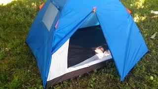 Видео обзор палатки 2-х местной Coleman 1001