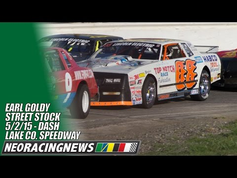 Earl Goldy Street Stock Dash at Lake County Speedway - 5/2/15 - NEO Racing News