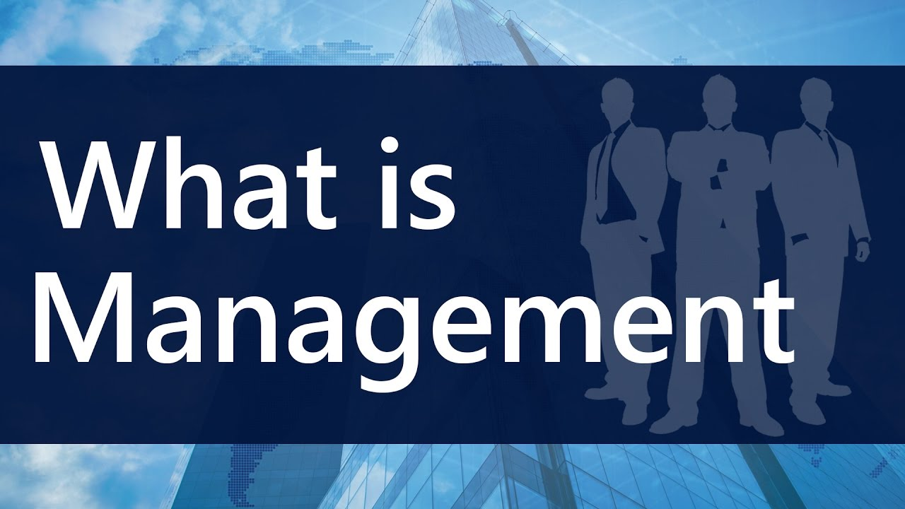 management definition lectures mba