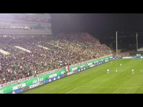 La ola Mexico vs Iceland