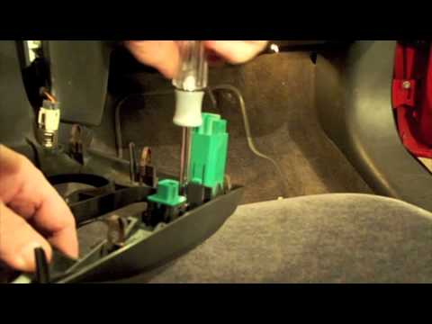 Pontiac Grand Am turn signal fix / repair - YouTube