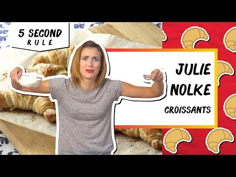 First Time Croissants l 5 Second Rule with Julie Nolke