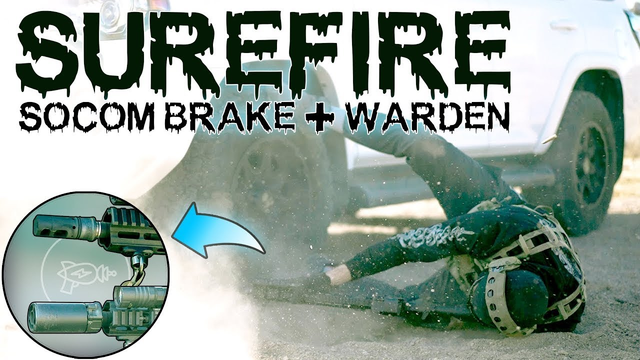Modular Muzzle Brake Science 🔬 Surefire SOCOM Muzzle Brake + Warden! [Review]