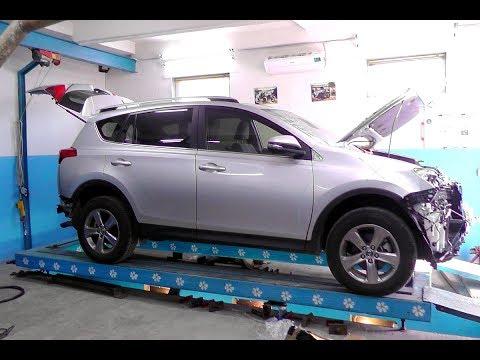 Toyota RAV 4.  Прямиком из Америки в Каховку. Двойной удар.