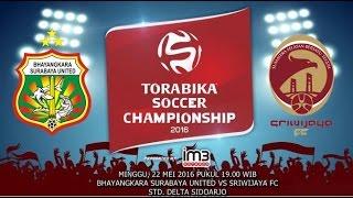 Cuplikan Pertandingan Bhayangkara SU vs Sriwijaya FC