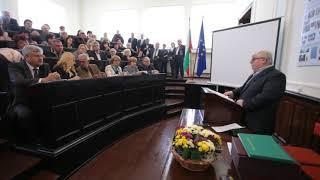 Шефът на Селскостопанска академия проф.Васил Николов поздрави  всички научни звена