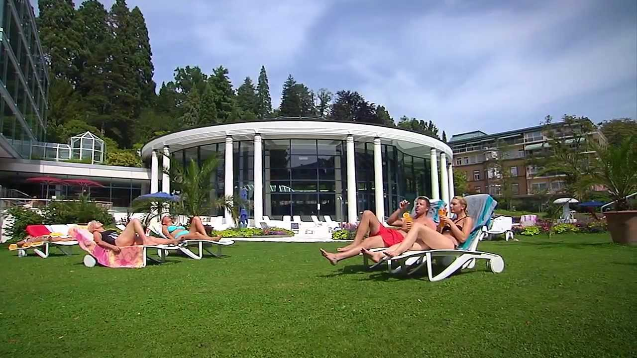 outdoor pools at caracalla spa baden baden youtube. Black Bedroom Furniture Sets. Home Design Ideas