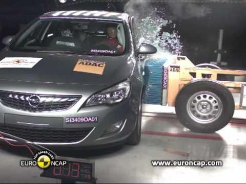Euro NCAP | Opel Astra | 2009 | Crash Test