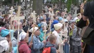 Orthodox Christians start Pilgrimage with Crosses - Poland