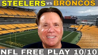 Steelers vs Broncos Picks and Predictions | Steelers vs Broncos Betting Odds and  Preview | Oct 10