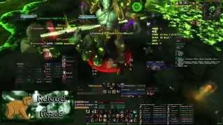 Reload vs Heroic Archimonde (Guardian Druid PoV)