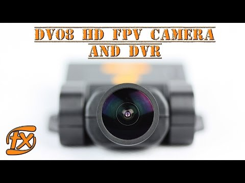 FX DV08 HD FPV CAMERA/DVR - Runcam2 comparison with latency and low light test (25g)