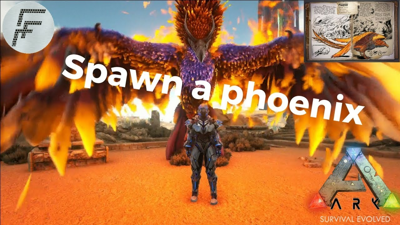 Ark survival evolved how to spawn the phoenix youtube ark survival evolved how to spawn the phoenix malvernweather Gallery