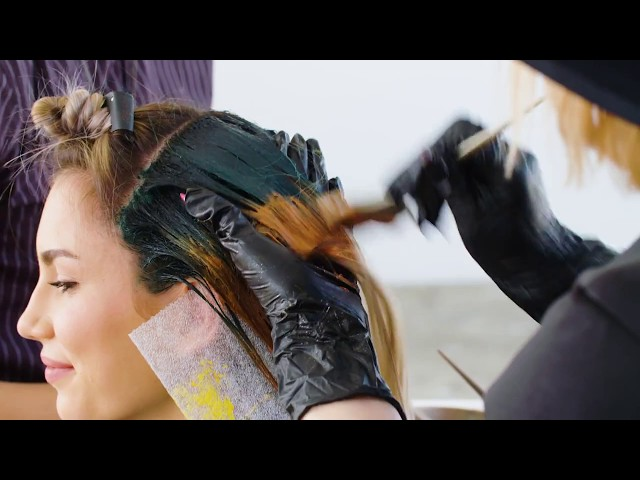 Color Bloom Fashion Colors Technique by Larisa Love (Joico Color Intensity)