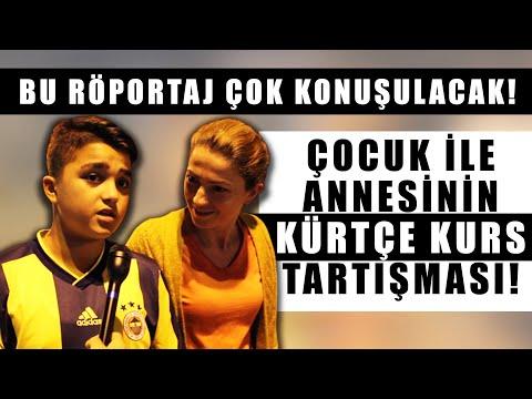 Fenerbahçeli çocuğun çok Konuşulacak Kürtçe Yorumu... Annesi Ile Tartıştı