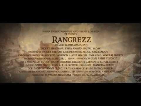 Rangrezz 2012 Official Trailer in HD