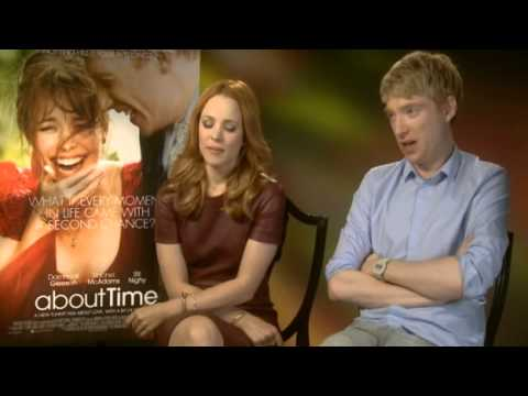 About Time Rachel McAdams and Domhnall Gleeson interview