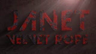 """Janet Jackson """"Velvet Rope"""" (Lyric Video)"""