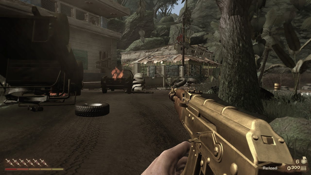 Far Cry 2 Golden Ak 47 Gameplay Youtube
