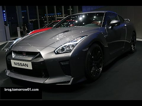 Nissan Gtr Interior >> Nissan GT-R 2017 Model Year : Gray , Interior : Amber Red - YouTube