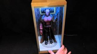 Papercraft Hellboy Diorama