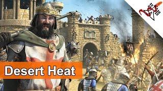 Stronghold Crusader 2 - Mission 1 | Death Valley | Desert Heat | Skirmish Trail