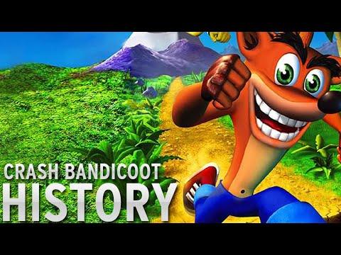 History of - Crash Bandicoot (1996-2010)