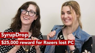 SyrupDrop Jan 12 2017: Razer offers $25,000 for its missing 3 screen laptop