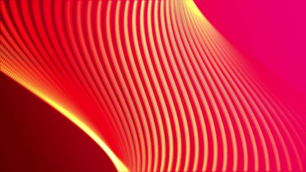 Smooth Red Orange Yellow Moving Line Abstract Motion Free Background Loops Hd