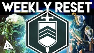 Destiny Weekly Reset - IRON BANNER Returns!! | 30th June