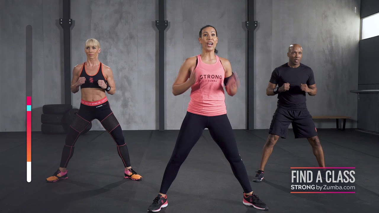 20 Minutiges Strong By Zumba Demovideo Mit Intensivem Cardio Toning