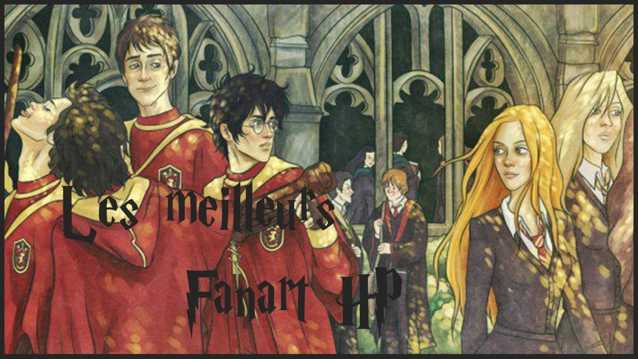 Les plus beaux Fanart Harry Potter [TOP]