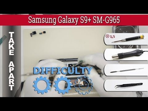 How to disassemble 📱 Samsung Galaxy S9+ SM-G965 Take apart