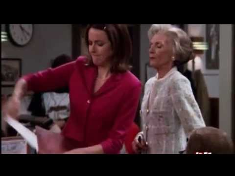 The Drew Carey Show - Kate Kisses Mrs. Louders Butt