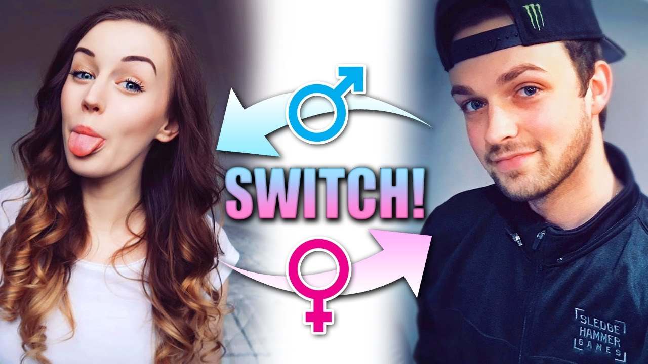 GENDER SWITCH    What Would We Look Like!? 👦🏻🔄👩🏻 (FaceApp)