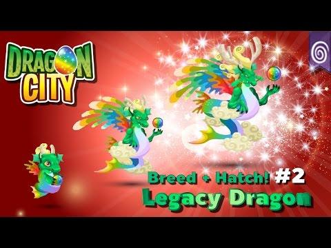 [Dragon City] (สูตร 2) ผสม + ฟักไข่มังกรมรดกตกทอด Breed + Hatch Legacy Dragon #2  Legendary  amSiNE