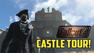 HUGE FALLOUT 4 CASTLE SETTLEMENT TOUR! (Xbox One)